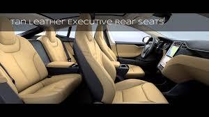 Seating Option Tesla Model S New Executive Rear Seats Slideshow Youtube