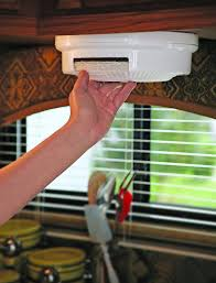 paper plate holder storage organizer mount under cabinet rv shelf