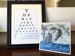 customized eye chart maker great for personalized gifts and home