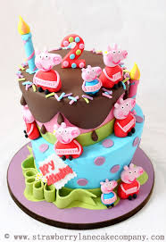 peppa pig cake so simply peppa pig birthday party ideas theme cakes