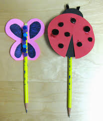 pencil craft ideas for kids easy arts and crafts ideas