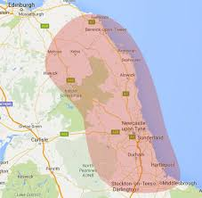 Durham England Map by Windows Doors Conservatories Northumberland Glass
