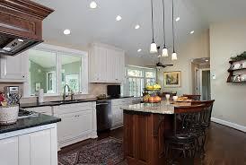 single pendant lighting over kitchen island home lighting design