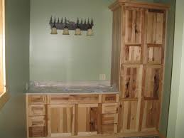Bathroom Linen Closet Ideas Interior Bathroom Linen Closet And Cabinet With Wood Color And