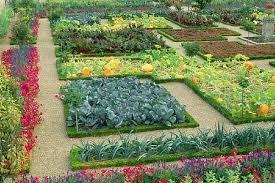 flower and vegetable garden layout gardensdecor com