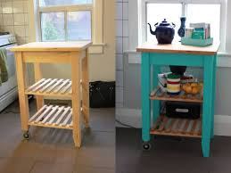 Folding Kitchen Cart by Kitchen Carts Kitchen Cart With Hidden Wheels White Hollywood