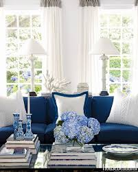 Blue Rooms An Ode To Americas Favorite Color - House beautiful living room colors