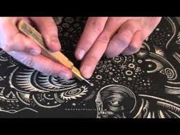 printmaking tutorial woodcarving with woodblock tools intaglio