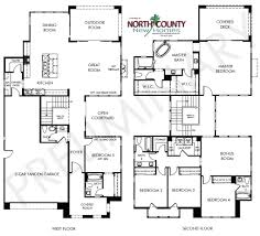 new home construction floor plans portofino new homes in pacific highlands ranch valley san