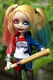 after high dolls names doll harley quinn inspired ooak after high eah custom doll by