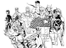 avengers books and comics coloring pages for adults justcolor