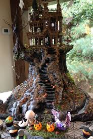 department 56 halloween village 22 best halloween villages images on pinterest halloween village