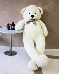 joyfay 91 teddy white stuffed plush