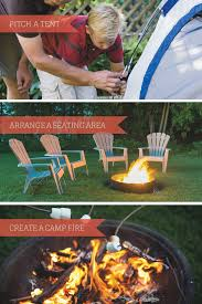 how to go backyard camping home is here