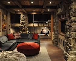 Lodge Living Room Decor by Marvelous Design Cabin Living Room Peaceful Inspiration Ideas Hgtv