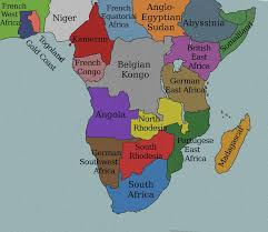 Niger Africa Map by Africa 1914 Map