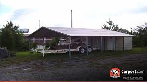 Carport Attached To House by Steel Utility Carport 20 U0027 X 31 U0027 X 8 U0027 Clearance Carport Com Sales