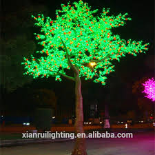 supply artificial led tree light different types of