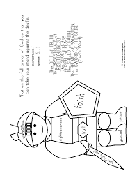 armor of god coloring pages 4124 800 667 free printable