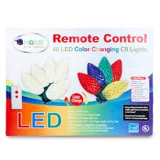 energy star led c9 lights 40 color changing cut c9 led christmas string lights w