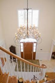 How High To Hang Pictures How High To Hang A Chandelier In A Foyer Ehow