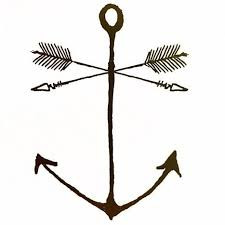 may your arrows fly and your anchors hold true tattoos