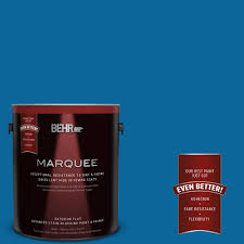 behr marquee 1 gal qe 54 shaker blue flat exterior paint 445401