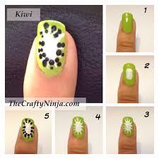 fresh fruit nail tutorial nail art misc pinterest fresh fruit