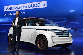 volkswagen electric concept new electric vw microbus