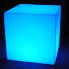 light up furniture cube 24