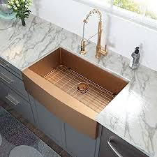 is an apron sink the same as a farmhouse sink 33 farmhouse sink lordear 33 inch kitchen sink apron front copper tone bronze 16 stainless steel single bowl kitchen farm sink basin