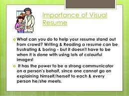 What Is Visual Resume Visual Resumes