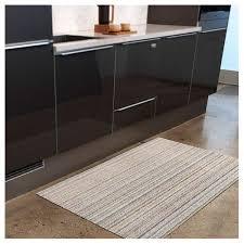Chilewich Doormats Chilewich Shag Skinny Stripe Utility Mat Color Soft Multi Door