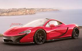 pink cars pictures mclaren p1 luxury pink color cars