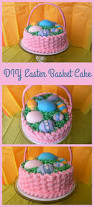 Diy Easter Basket Create This Diy Easter Basket Cake The Kid U0027s Fun Review
