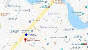 canap駸 atlas 新加坡住宿推薦 眨眼客背包客旅館wink capsule hostel 6人家庭房 早餐