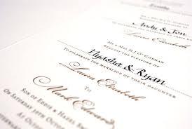 Formal Wedding Invitations 7 Tips For Wording Formal Wedding Invitations The Woods On Ninth