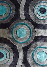 Gray Area Rug Modern Teal And Gray Area Rug Grey Cepagolf In Throughout