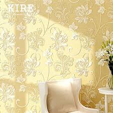 Peal And Stick Wall Paper Aliexpress Com Buy 5 Meters 3d Embossed Floral Peel And Stick