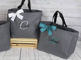 bridesmaid gift bags 9 personalized bridesmaid gift tote bags personalized tote