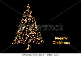 Music Note Christmas Tree Ornament by Christmas Music Notes Stock Images Royalty Free Images U0026 Vectors