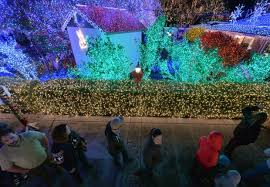 lights of livermore holiday tour livermore holidays light up the tri valley