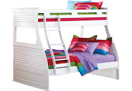 belmar white 4 pc twin full bunk bed bunk loft beds colors