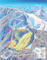 Map Of Colorado Ski Resorts by Cataloochee Ski Area Maggie Valley Nc Trail Map Maggie Valley Nc