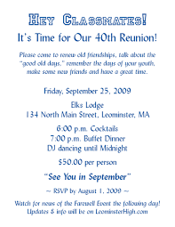Family Reunion Invitation Cards Lhs Class Of U002769 Reunion Pictures From Friends