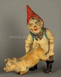 whimsical terracotta garden gnome 1900 terracotta garden ornaments