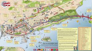 Chicago Trolley Tour Map by Big Bus Tours San Francisco Map Michigan Map