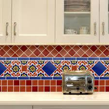 Mexican Tile Kitchen Backsplash Interior Design Decor - Mexican backsplash