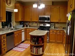 kitchen island oak my new kitchen island staining oak cabinets the six fix