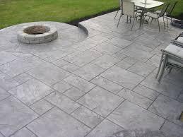 Backyard Concrete Patio Chic Concrete Patio Ideas Concrete Patio Ideas Gardensdecor Com